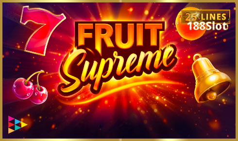 Fruit Supreme: 25 lines