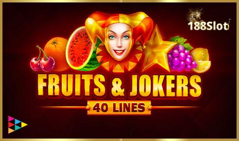 Fruits&Jokers: 40 lines
