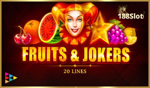 Fruits&Jokers: 20 lines